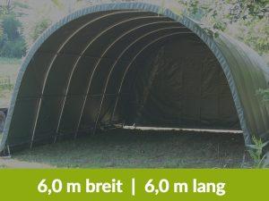 Steinbock Zelte Weidezelte, 6m breit & 6m lang